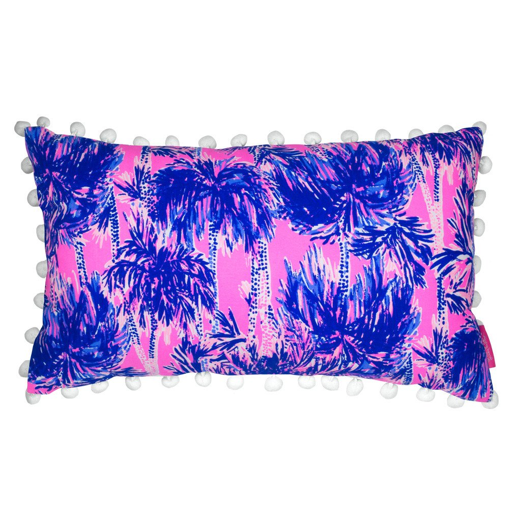 Lilly Pulitzer Medium Pillow, Palms