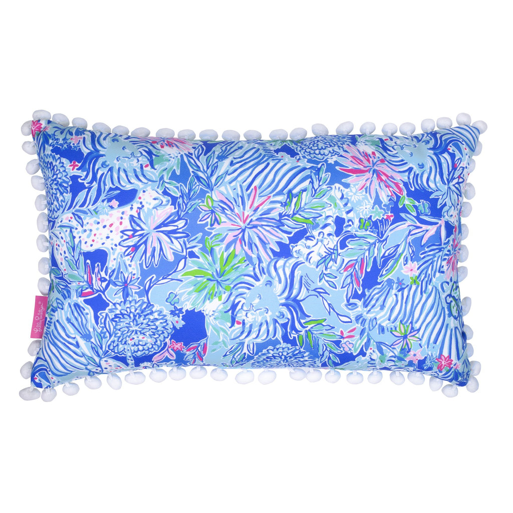 Lilly Pulitzer Medium Pillow, Lion Around