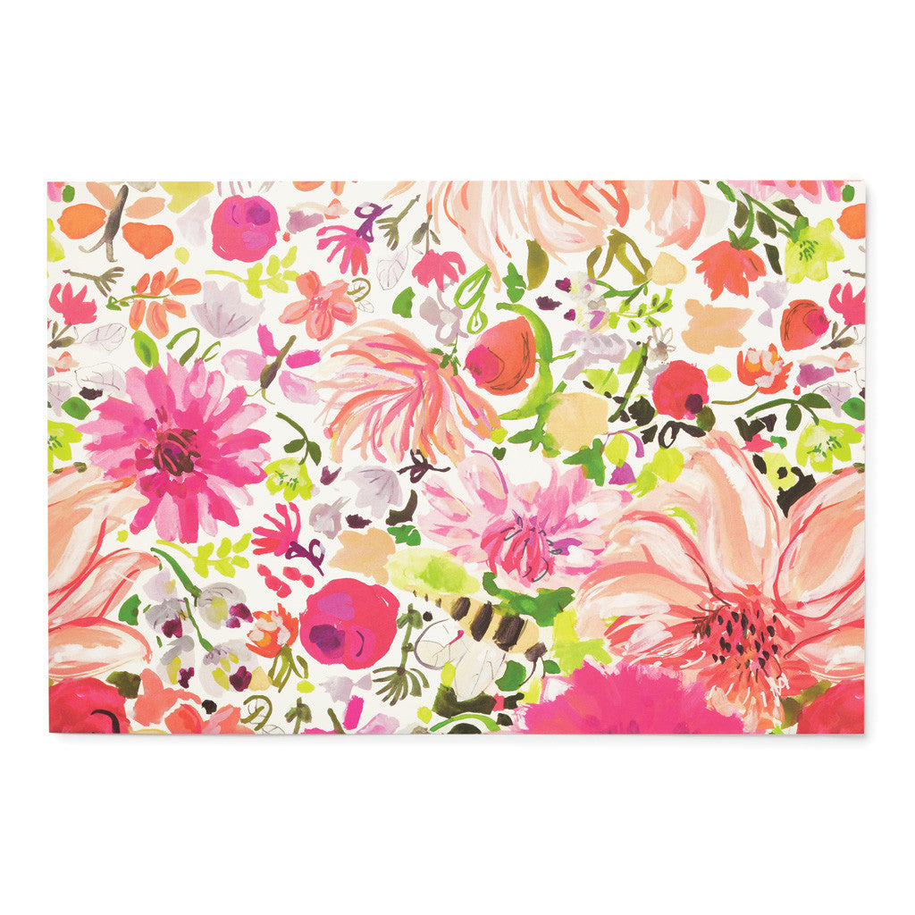 kate spade new york paper placemats - dahlia