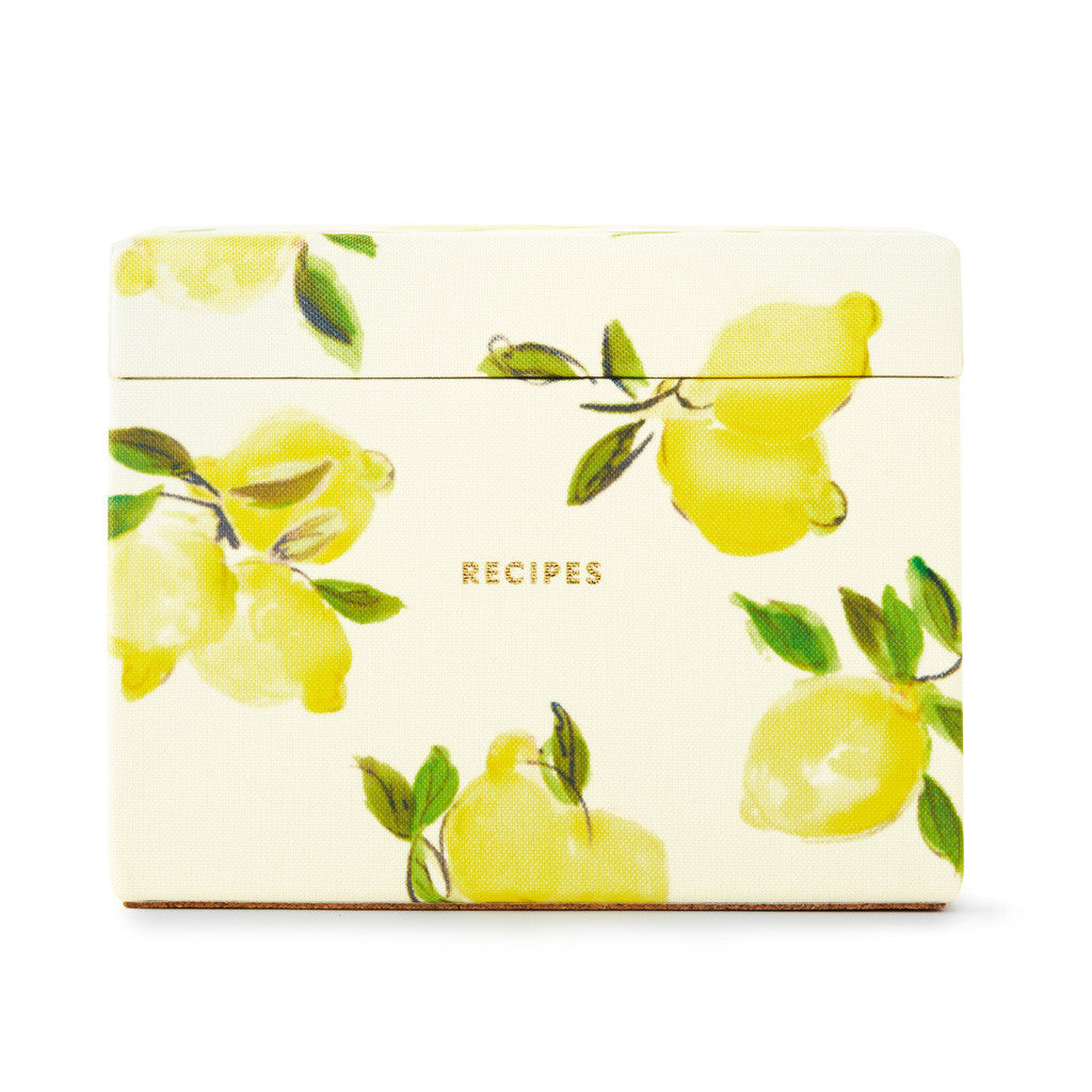 kate spade new york Recipe Box - Lemons