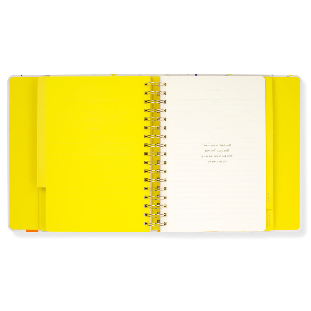 kate spade new york Recipe Book, citrus twist