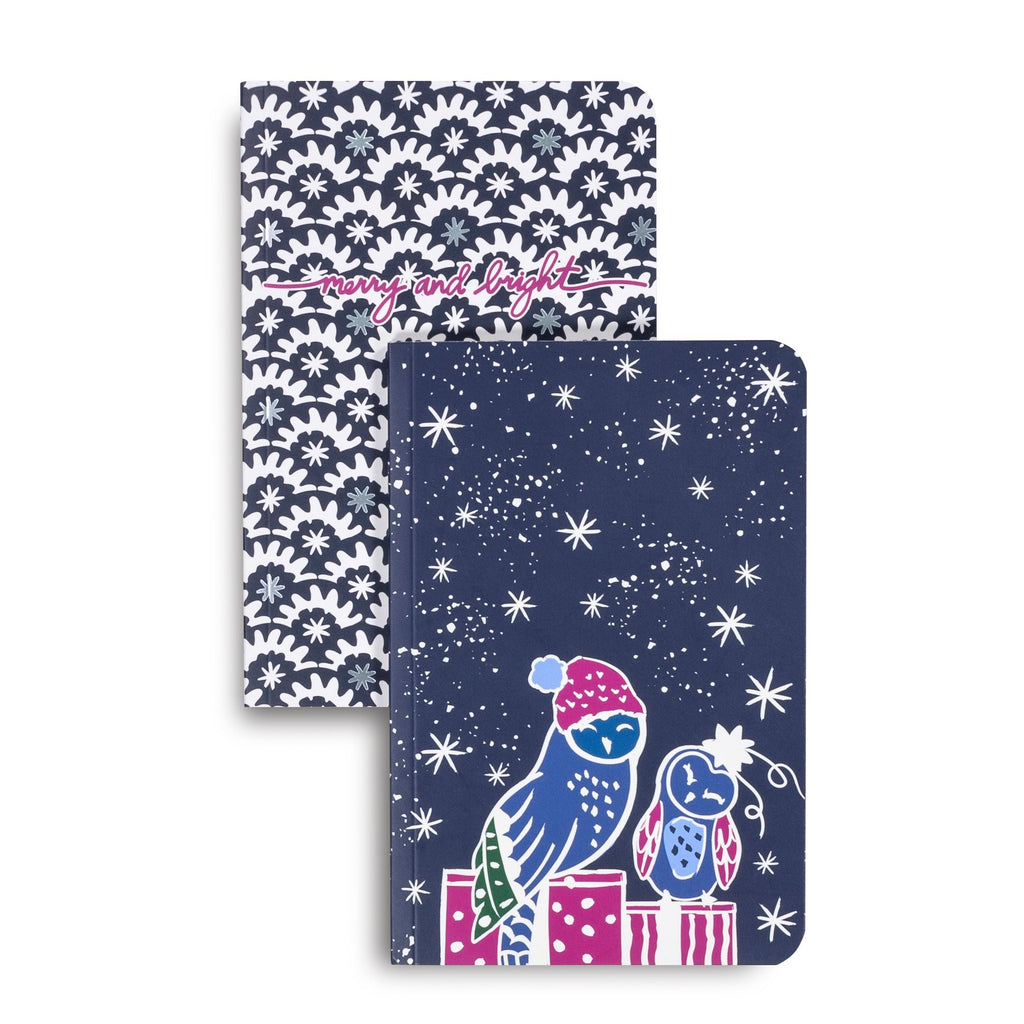 Vera Bradley Slim Journal Set, Owl