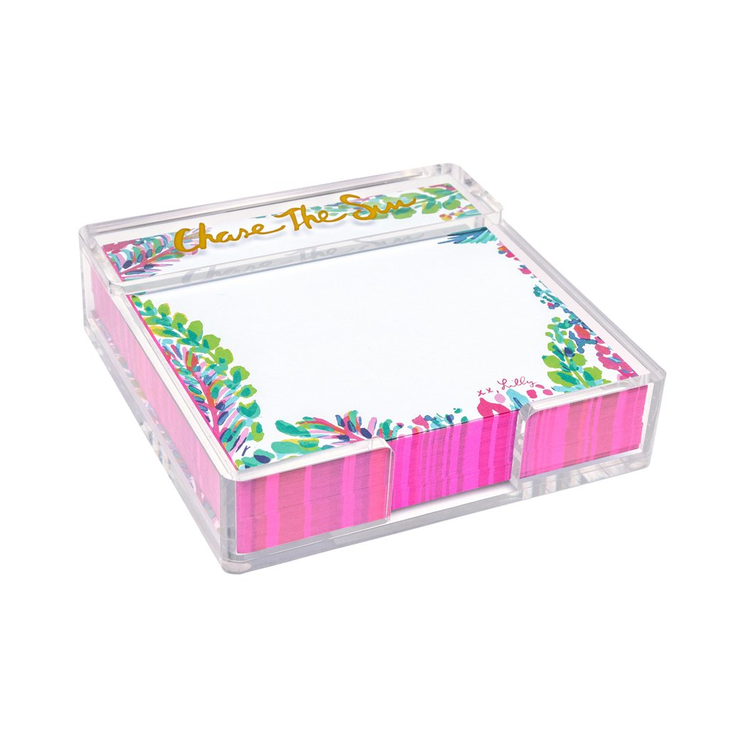 Lilly Pulitzer Small List Pad - Catch The Wave