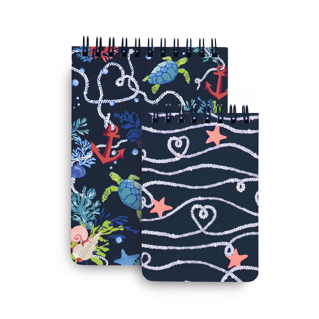 Vera Bradley Spiral Jotter Set, Shore Thing