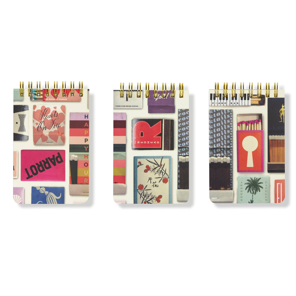 kate spade new york Spiral Notepad Set Of 3, Matchbook