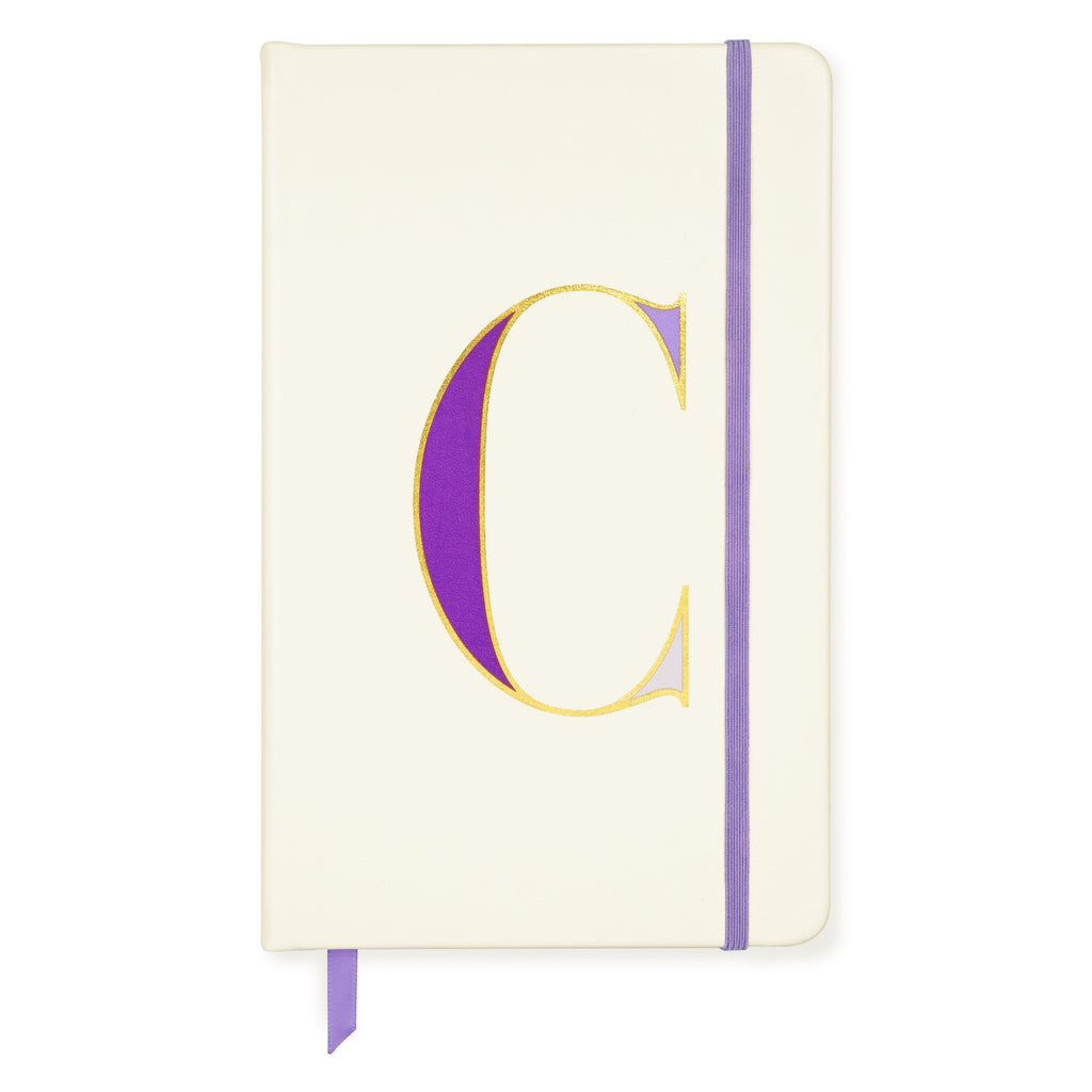 kate spade new york Initial Take Note Large Notebook, C