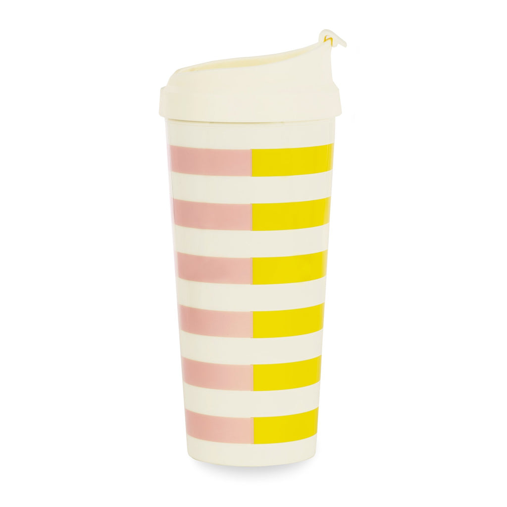 kate spade new york Thermal Mug, Two-tone Stripe