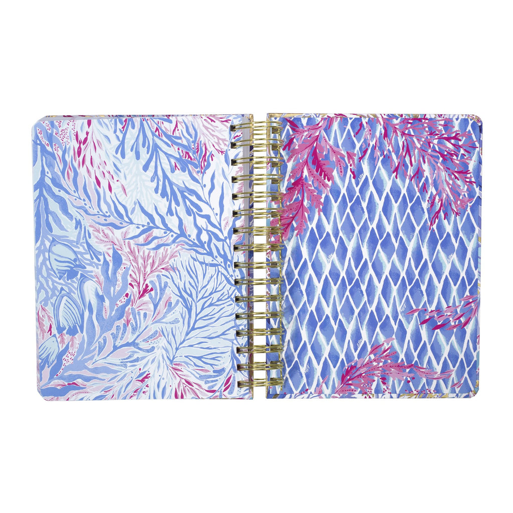 Lilly Pulitzer To Do Planner, Kaleidoscope Coral