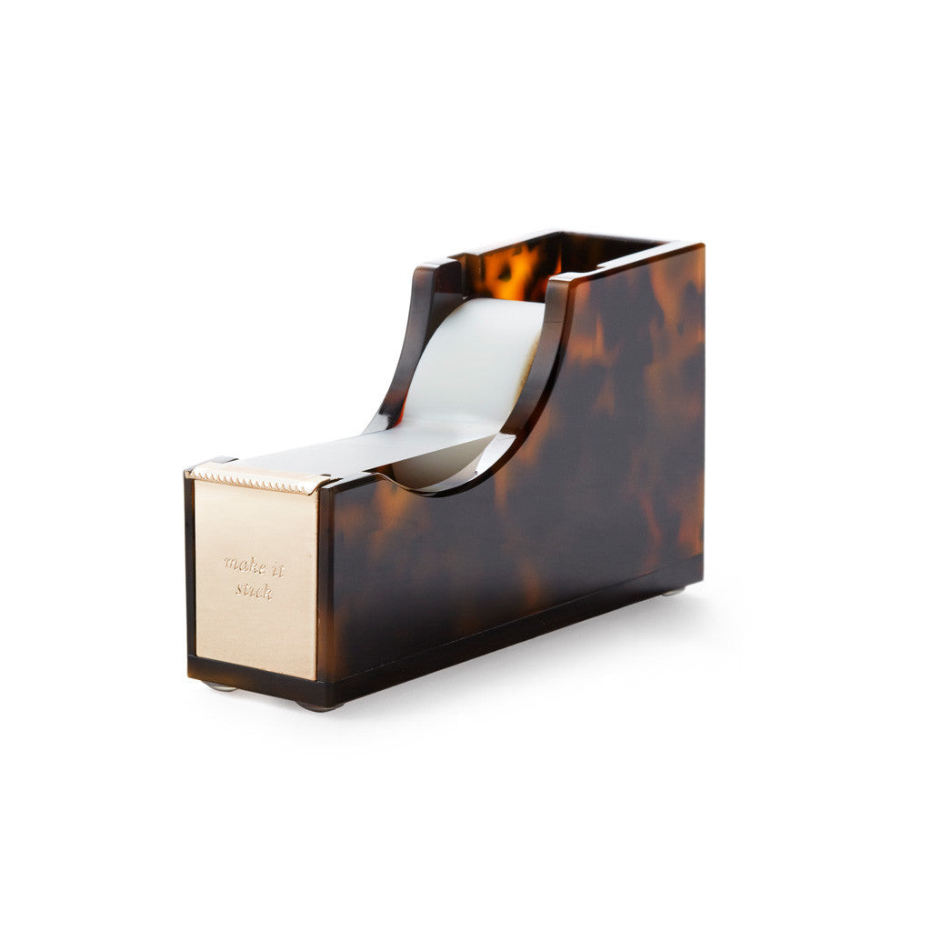 kate spade new york Acrylic Tape Dispenser - Tortoise