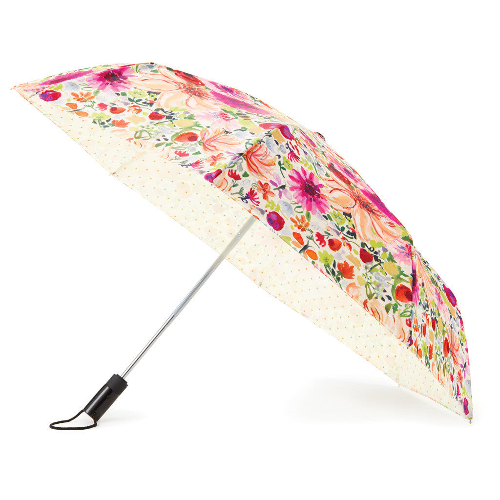 kate spade new york travel umbrella - dahlia