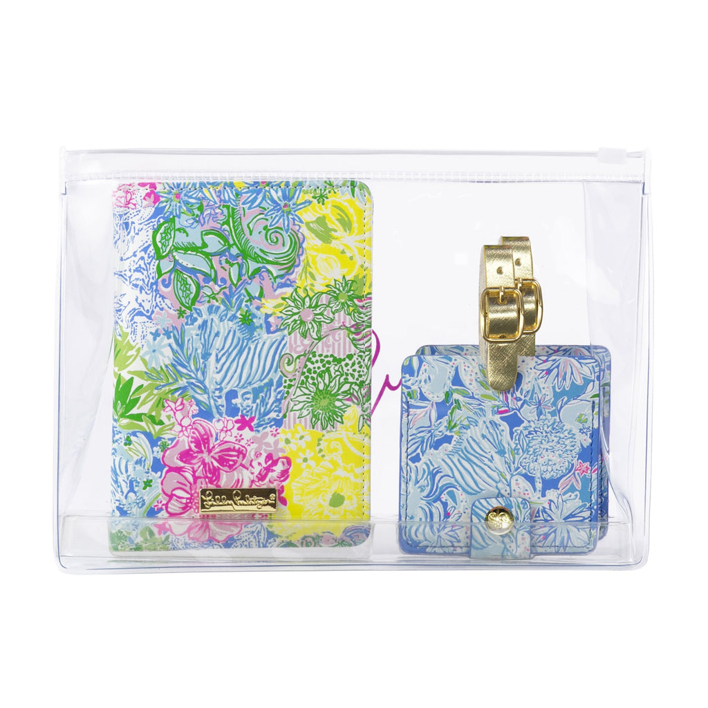 Lilly Pulitzer Travel Set, Cheek To Cheek