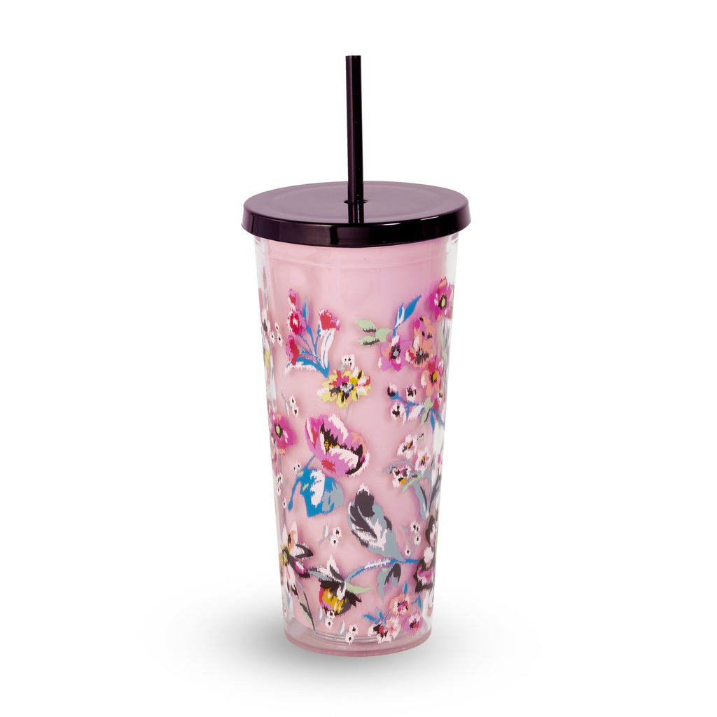 Vera Bradley Double Wall Tumbler, Indiana Rose
