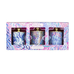 e38b3986093f3d Lilly Pulitzer Candle Votive Set, Kaleidoscope Coral