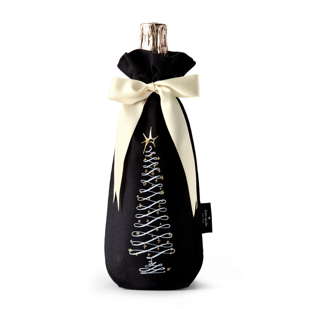 kate spade new york Holiday Wine Tote - Christmas Tree