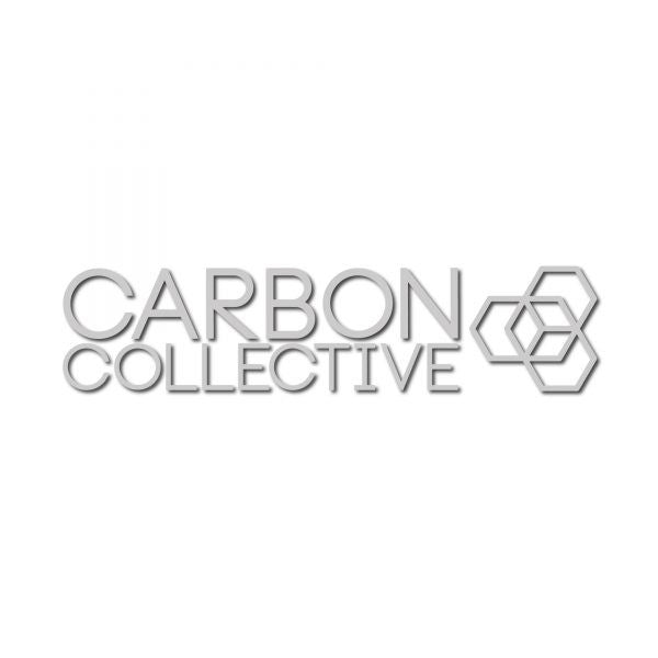 Carbon Collective – Etched Glass Window Sticker