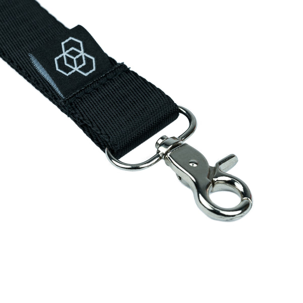 Carbon Collective Woven Lanyard