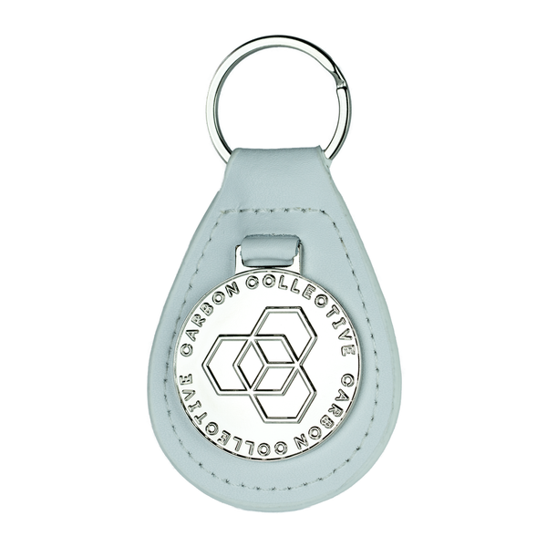 Carbon Collective Leather Key Fob
