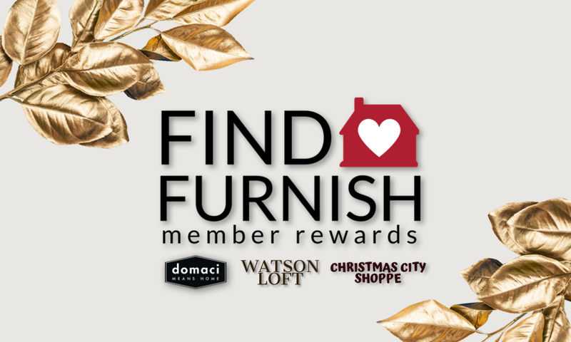 Find + Furnish Member Rewards Explained