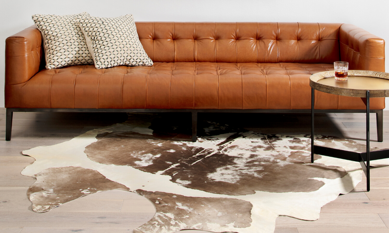 Caring for Cowhide Rugs & Pillows