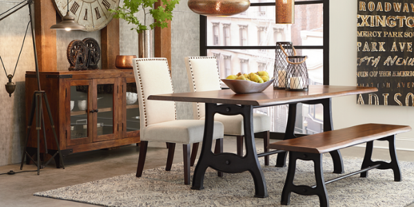 Industrial Farmhouse Dining Table Dining Style