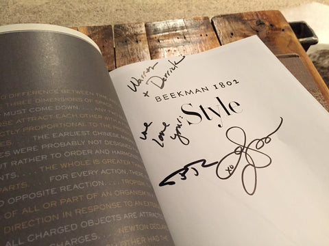 Signed Copy of Beekman 1802 Style