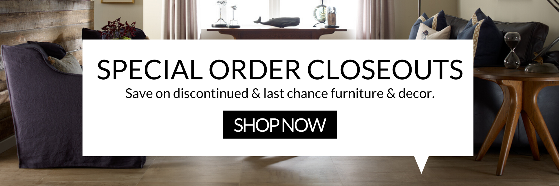 Special Order Discontinued Furniture Sale