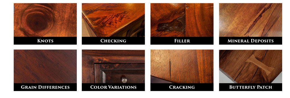 Natural Characteristics of Solid Wood