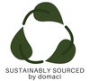 Sustainably Sourced by Domaci