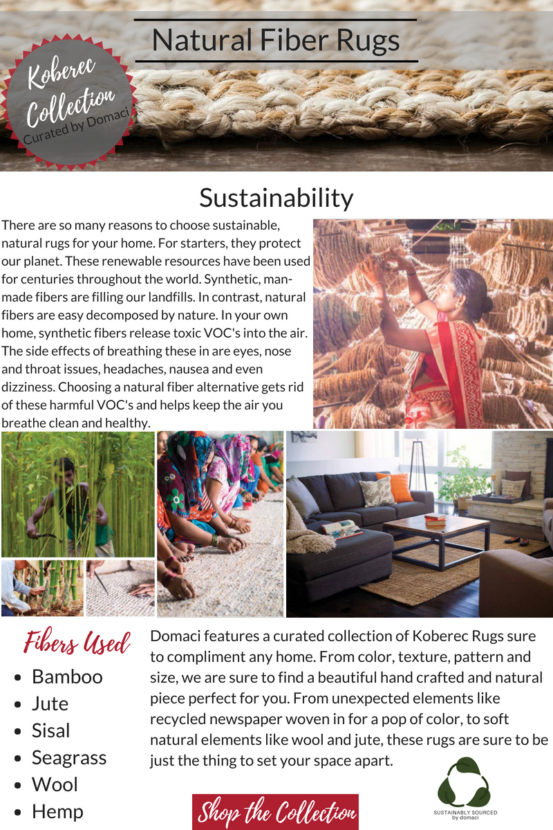 Sustainable Natural Fiber Rugs