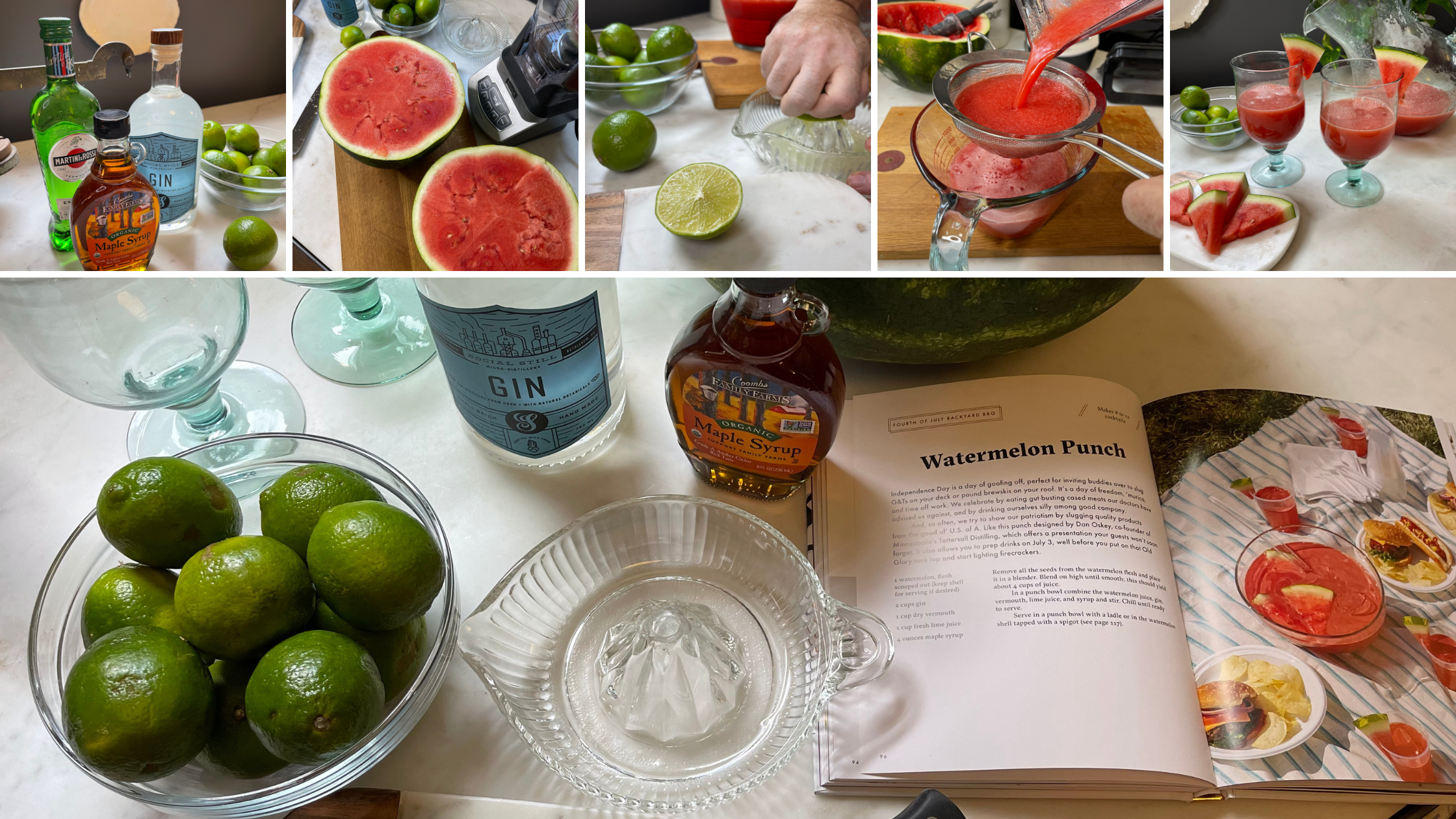 Watermelon Punch Cocktail by Domaci