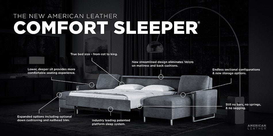 Comfort Sleeper from American Leather at Domaci