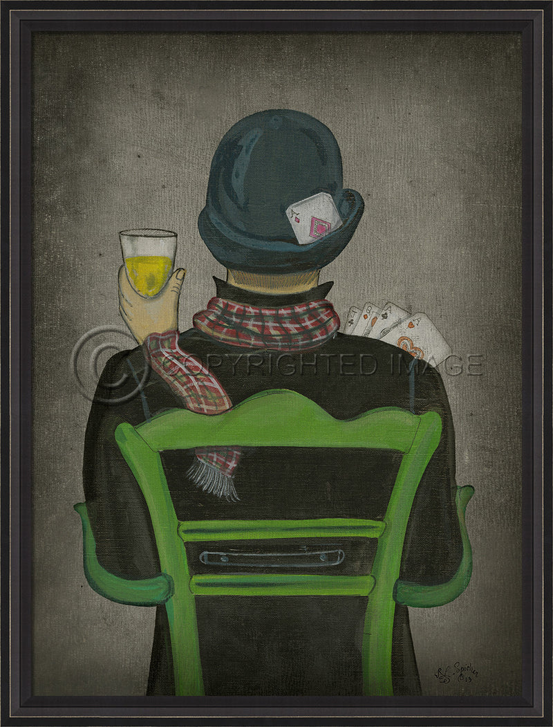 Vices Wall Art: Gentleman Vice 3