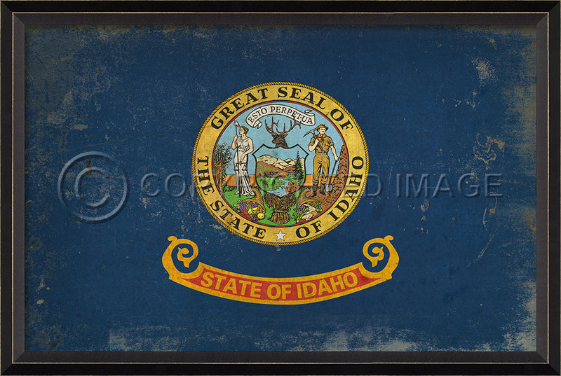Idaho State Flag Wall Art