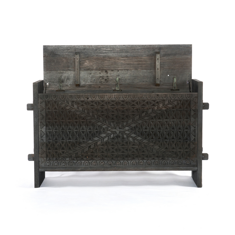Columbus Trunk  Console-Dark Totem