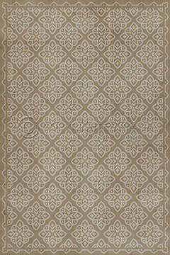 "Pattern 45 ""Niveus"" Vinyl Floorcloth"