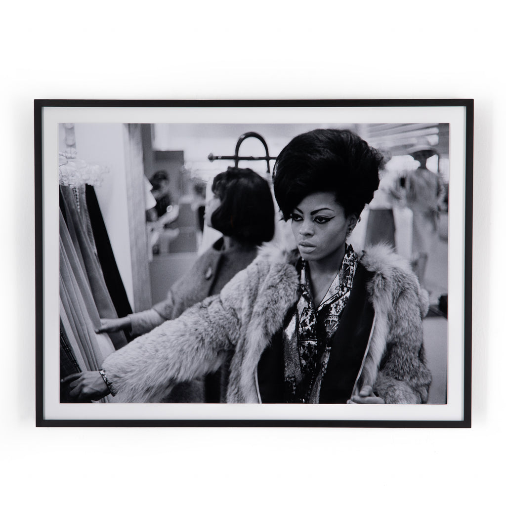 Diana Ross of The Supremes Framed Wall Art by Getty Images
