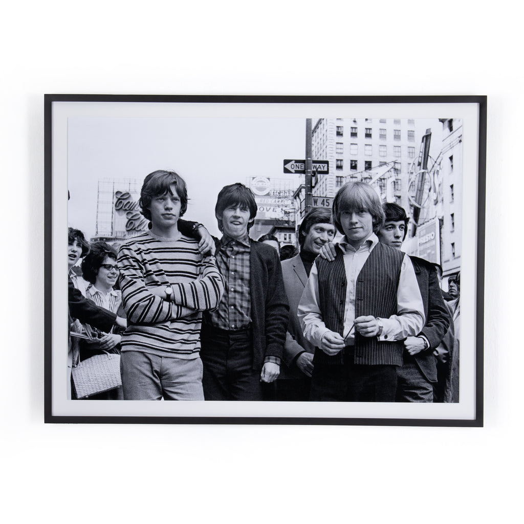 The Rolling Stones Framed Wall Art by Getty Images