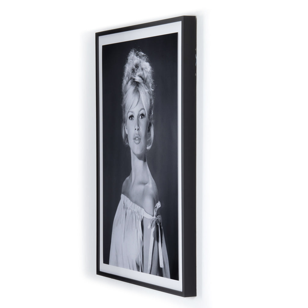 Pouting Brigitte Bardot Framed Wall Art by Getty Images