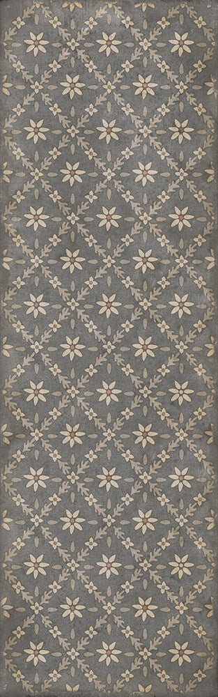 "Williamsburg Naturalist ""Mitchell"" Vinyl Floorcloth"