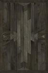 "Norwegian Wood Native ""Black Hawk"" Vinyl Floorcloth"
