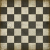 "Pattern 07 ""Checkered Past"" Vinyl Floorcloth"