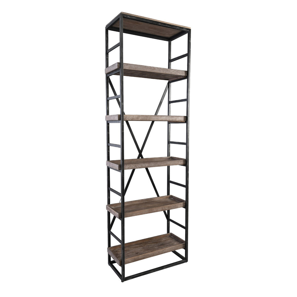 Levan Adjustable Single Bookshelf
