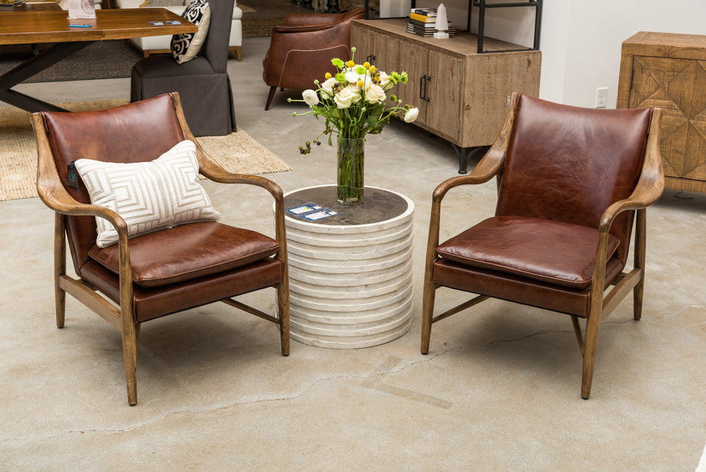 Stabler Leather Club Chair