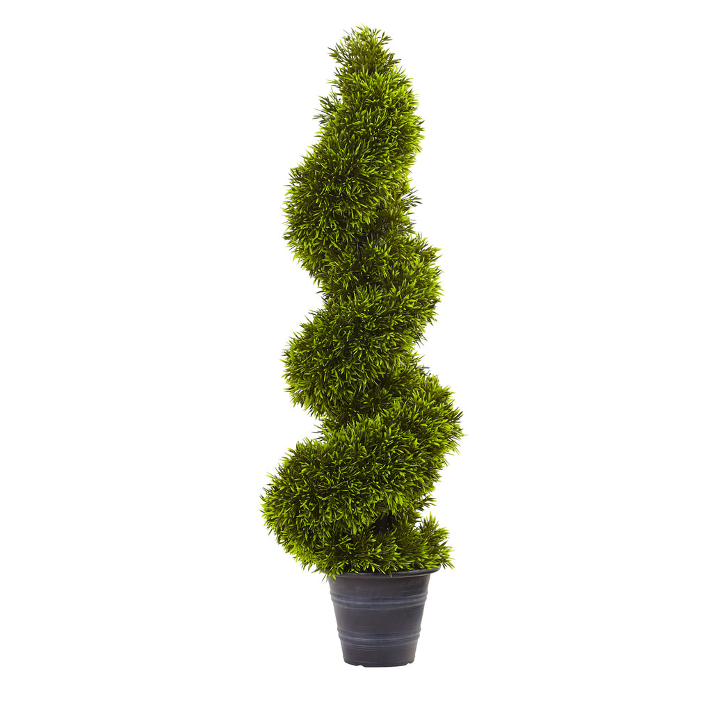 Grass Spiral Topiary
