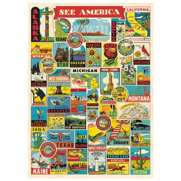 Urban Farmhouse Coffee Enameled Storage Canister