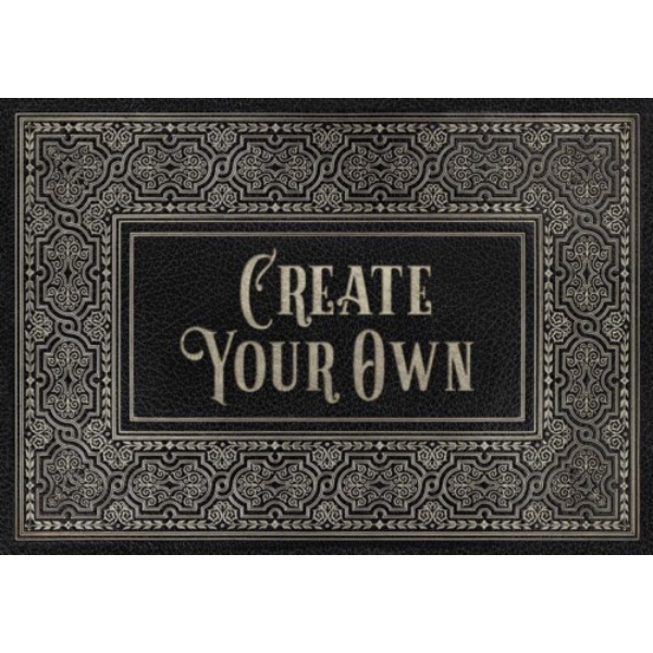 "English Library ""Octavo"" Customized Vinyl Mat"