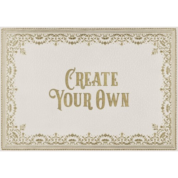"English Library ""Acquisition"" Customized Vinyl Mat"