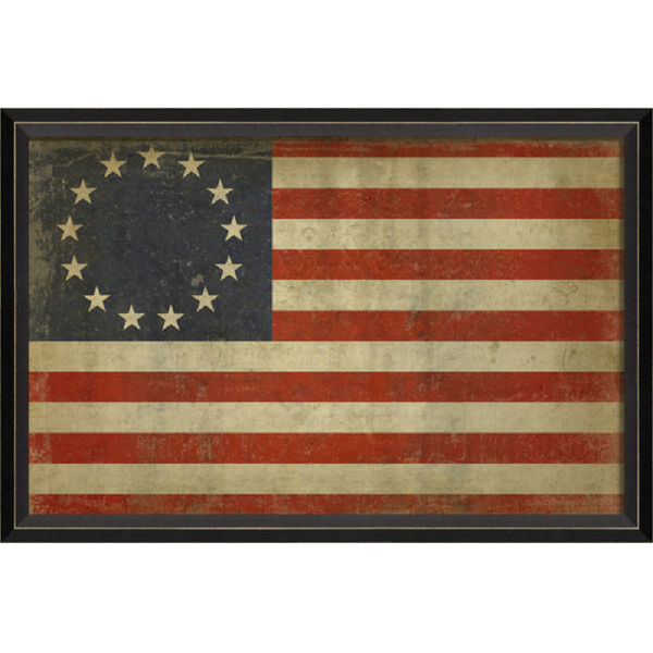 "America 1776 ""Betsy Ross"" Flag Wall Art"