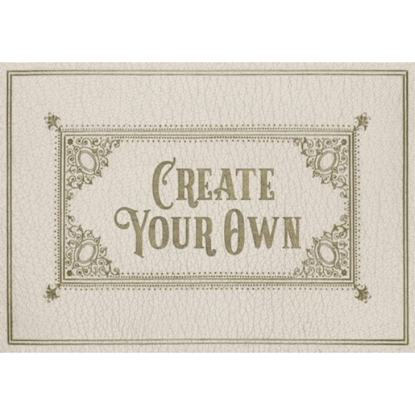 "English Library ""Exposition"" Customized Vinyl Mat"