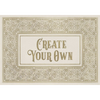 "English Library ""Opuscule"" Customized Vinyl Mat"